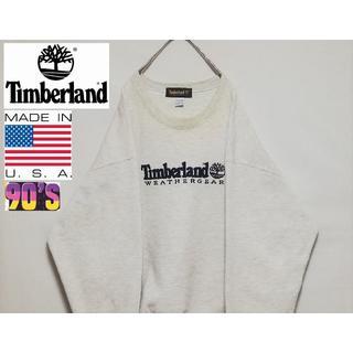 ティンバーランド(Timberland)の90年代 TIMBERLAND USA プルオーバースウェット(スウェット)