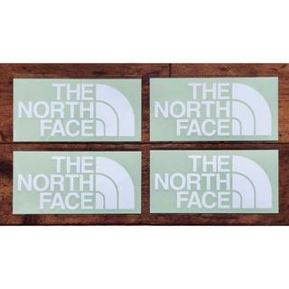 ザノースフェイス(THE NORTH FACE)のノースフェイス カッティングステッカー ホワイト 4枚セット(その他)