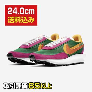 ナイキ(NIKE)の【24cm】NIKE × sakai LDワッフル(スニーカー)