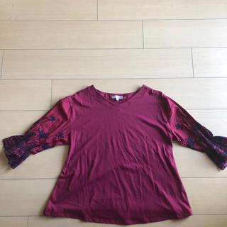 レディース ワインレッド(Tシャツ(半袖/袖なし))