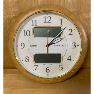 カシオ(CASIO)のカシオ・電波時計!ウエーブ・セプター!(掛時計/柱時計)