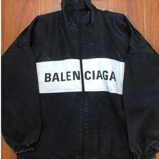Balenciaga - balenciagaトラックデニムジャケット