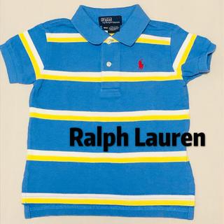 POLO RALPH LAUREN - ポロ ラルフローレン 半袖 シャツ ポロシャツ 美品 80