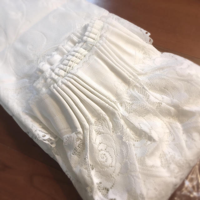新品・未使用!姫可愛い♡⃛エレガントなバルーンシェードのレースカーテン❁ インテリア/住まい/日用品のカーテン/ブラインド(レースカーテン)の商品写真