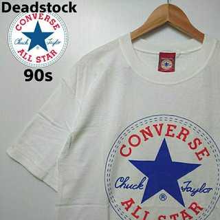 コンバース(CONVERSE)の475 レア デッドストック コンバース 90s USA製 デカロゴ Tシャツ(Tシャツ/カットソー(半袖/袖なし))