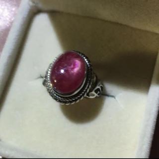 宝石リングルビーSILVER925 シルバー925 リング 箱付き指輪(リング(指輪))
