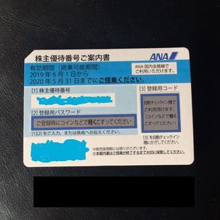 ANA 1枚 株主優待券(航空券)