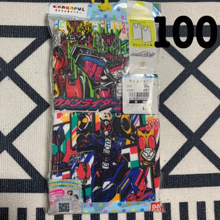 BANDAI - 新品 仮面ライダー ジオウ ランニング 肌着 100