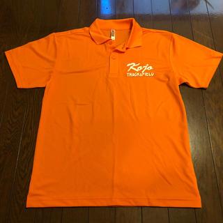 眩しいオレンジポロシャツ(ポロシャツ)