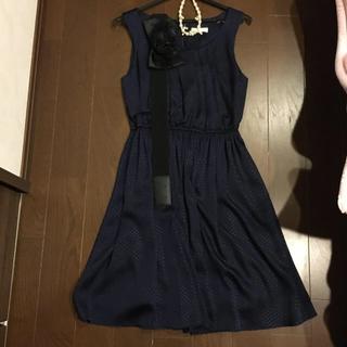 ユナイテッドアローズ(UNITED ARROWS)のユナイテッドアローズ ドレス 付属品2点付き(ミディアムドレス)