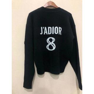 """ディオール(Dior)のDior 2019/20AW新作 """"J'adior 8"""" 刺繍入り セーター (ニット/セーター)"""