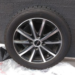 ダンロップ(DUNLOP)のマリンちゃん様専用◆スタッドレスタイヤ4本セット(タイヤ・ホイールセット)