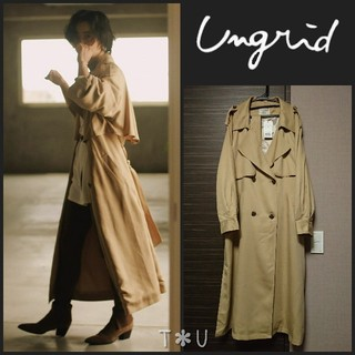 Ungrid - 【新品】今季  ungrid ルーズロングトレンチコート