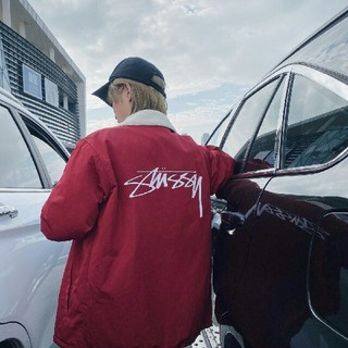 ステューシー(STUSSY)のSTUSSY タグ付き オリジナルスボアフリースジャケット(ブルゾン)