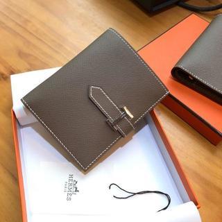 Hermes - A3 エトープ ベアンコンパクト 二つ折財布