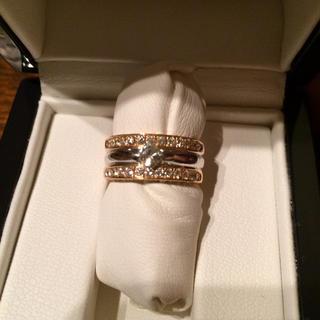 【未使用】計1カラット以上 ダイヤモンドリング サイズ11(リング(指輪))
