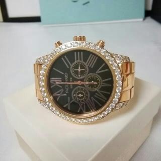 スワロフスキー(SWAROVSKI)の美品。FACE AWARD フェイスアワード クロノグラフ 腕時計 ユニセックス(腕時計)