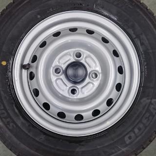 BRIDGESTONE - ブリヂストン 145R12 6P W300 タイヤホイールセット