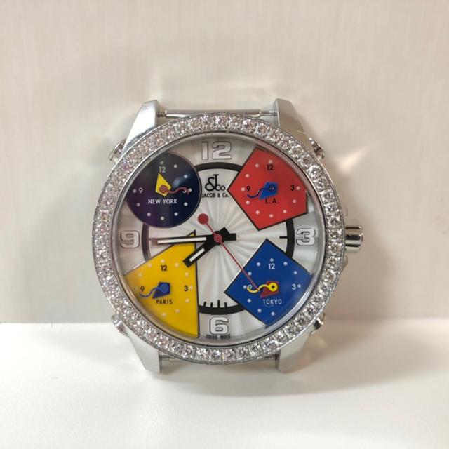 スーパーコピー 時計 シャネルコピー 、 JACOB & Co.【ジェイコブ】原価150万超!の通販 by neco's shop