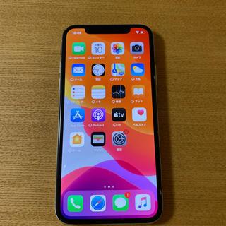 アップル(Apple)の☆A様専用【中古】docomo iphoneX シルバー 64GB SIMフリー(スマートフォン本体)