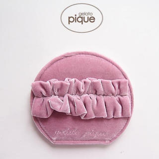gelato pique - 新品・タグ付・未開封!ジェラートピケのベロアリボン付コンパクトミラー♡⃛