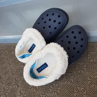 crocs - CROCS ボア付き