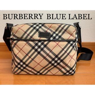 バーバリーブルーレーベル(BURBERRY BLUE LABEL)のバーバリー ショルダーバッグ ノバチェック柄 男女兼用(ショルダーバッグ)