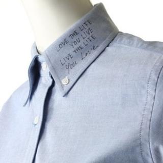MADISONBLUE - 新品未使用タグ付き マディソンブルー 長袖メッセージシャツ長袖 ブルー01