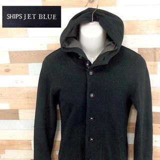 シップス(SHIPS)の【SHIPS JET BLUE】 美品 シップスジェットブルー フードジャケット(ブルゾン)