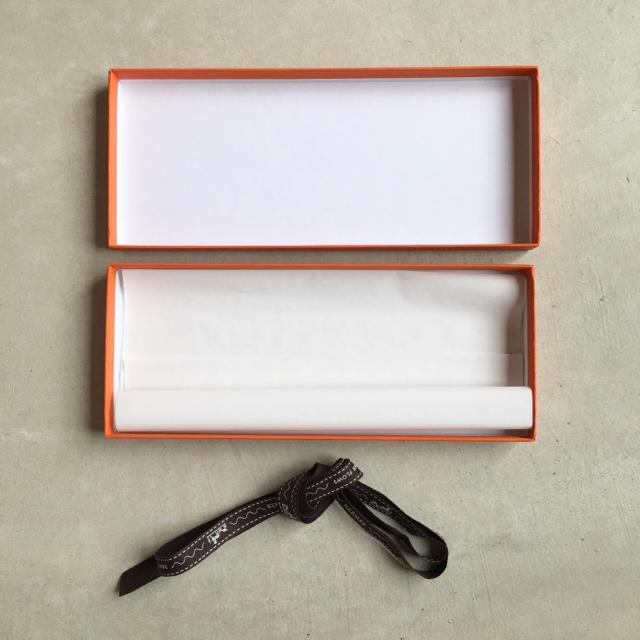 Hermes(エルメス)のHERMES エルメス 空箱・リボン レディースのバッグ(ショップ袋)の商品写真