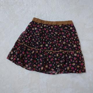 ページボーイ(PAGEBOY)の花柄 スカート(ミニスカート)