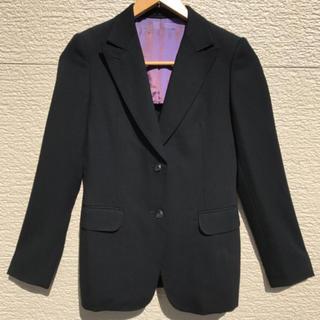 ユナイテッドアローズ(UNITED ARROWS)の美品 ユナイテッドアローズ ジャケット レディース 黒 ブラック 36(テーラードジャケット)