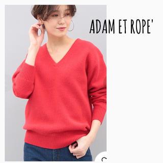 Adam et Rope' - ADAM ET ROPE' FOXファーVネックプルオーバー