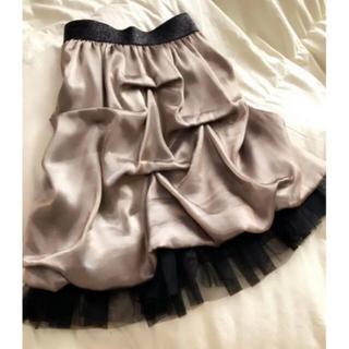 スコットクラブ(SCOT CLUB)のスコットクラブ ゴールドスカート(ひざ丈スカート)