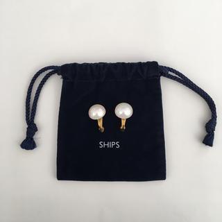 SHIPS - ヴィンテージ パールイヤリング