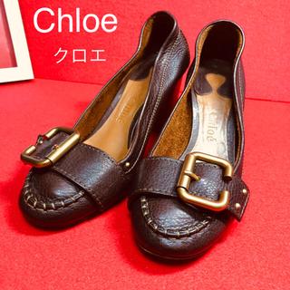 クロエ(Chloe)のChloe クロエ 柔らかい革 7cm ヒール パンプス(ハイヒール/パンプス)