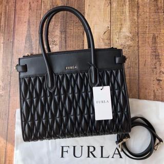 Furla - 新品 フルラ PIN COMETA コメタ キルティングレザー ハンドバッグ
