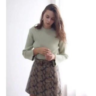 ロキエ(Lochie)のThe virgins snake belt skirt(ミニスカート)