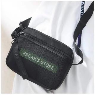 FREAK'S STORE - フリークスストア ロゴチャーム付き ショルダーバッグ