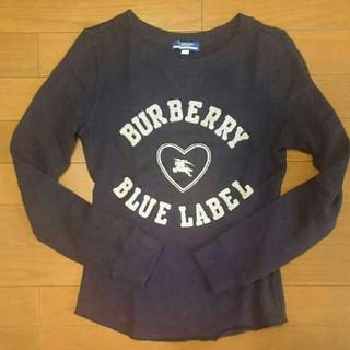 バーバリーブルーレーベル(BURBERRY BLUE LABEL)の【バーバリーブルーレーベル】トレーナー(トレーナー/スウェット)