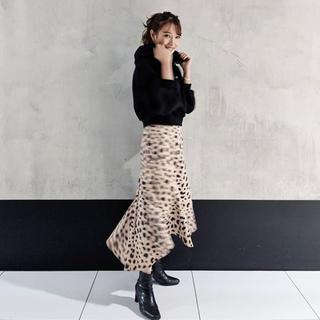 rienda - rienda Leopard Flare J/W SK