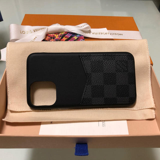 LOUIS VUITTON - ルイヴィトン◆iphone11 proバンパー ケース ダミエの通販