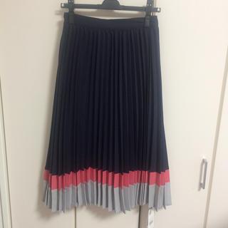 セシルマクビー(CECIL McBEE)のセシル☆ミモレ丈プリーツスカート(ひざ丈スカート)