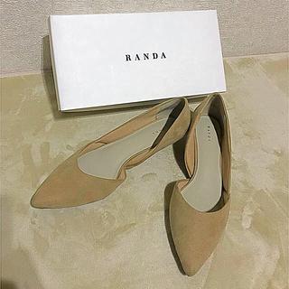 ランダ(RANDA)のランダ パンプス 25.5cm(ハイヒール/パンプス)