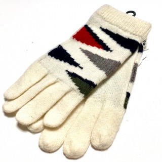 クロエ(Chloe)の新品 カラフル ニット 手袋 ウール、アクリル、ナイロン(手袋)