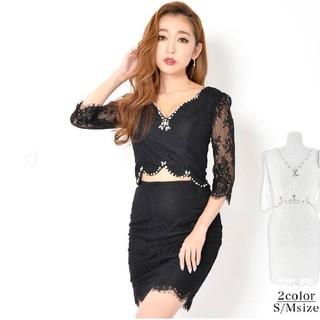 dazzy store - ミニタイトドレス ブラック Sサイズ