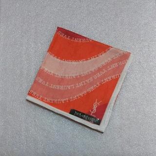 サンローラン(Saint Laurent)のイヴサンローラン☆大判ハンカチーフ58×58(バンダナ/スカーフ)