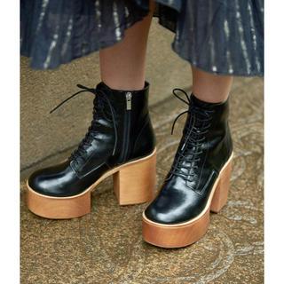 アメリヴィンテージ(Ameri VINTAGE)のAMERI 新品★LACE UP BOOTS     M ★(ブーツ)