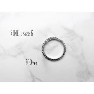 リング(指輪)シルバーカラー 6号(リング(指輪))