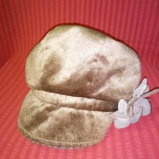 ベロア帽子(キャップ)